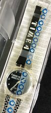 Nos New Swatch Time 4 Gk271 Watch Watch Vintage 1998