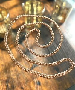 Solid 585 Russian Rose Gold Chain 14ct 14k gold chain