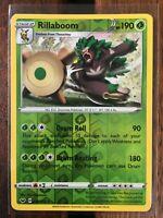 Pokemon Card   RILLABOOM   Reverse Holo Rare 15/202 SWORD & SHIELD *M* (015)