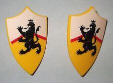 27052 Escudo amarillo león 2u playmobil,shield,scudo,lion,leão,leão,leone