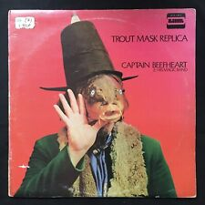 CAPTAIN BEEFHEART Trout Mask Replica RARE UK 1st INNER STS 1053 VINYL 1969 LP