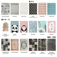 Hochflor Teppich Moderne Teppiche Kinderteppiche Vintage Ethno Design Scandi