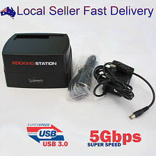 "USB3.0 to 2.5"" 3.5"" SATA HDD SSD Docking Station Super Speed 5Gbps"