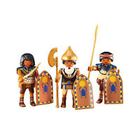 Playmobil 3 Egyptian Warriors Building Set 6488 NEW Learning Toys