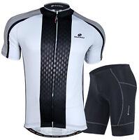 Cycling Bike Short Sleeve Clothing Set Bicycle Men Wear Suit Jersey Shorts Set