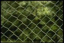 662002 Verde Malla de alambre de valla A4 Foto Textura impresión