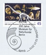 FRG 2010: Natural History Museum Berlin no. 2775 with Bonner Affixed! 1A 1804