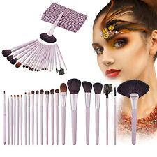 21PCS Pro Makeup Brush Set Cosmetic Foundation Powder Brushes Kit + Pouch New