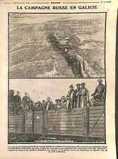 Redoute Galicia Soldiers Imperial Russian Army Bukovina Austria Army WWI 1914