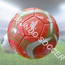 Icon Liverpool Fc Silver #5 Soccer Ball