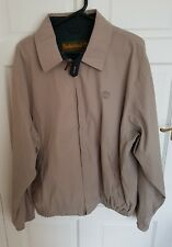 Authentic Timberland Weathergear Men's Bomber Jacket Beige Brown UK Size Medium