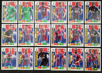 2019/20 PANINI EPL Soccer Cards - Crystal Palace Full Team Set (18 cards)