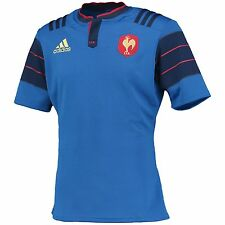 Gli adulti Medium Francia Rugby Home Shirt H31