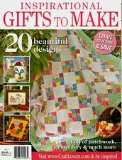 INSPIRATIONAL GIFTS TO MAKE NO 1.  MAGAZINE 2011  PATTERN SHEET ATTACHED