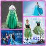 Kids Summer Dress For Girls Cartton disfraz Anna Elsa elza Dress Dresses princes