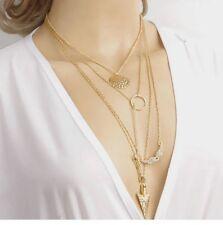 Fashion Lady Girls Chain Choker Chunky Statement Bib Pendant Chain Necklace HOT