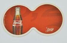 COCA-COLA COKE DOPPIA Sottobicchieri di Birra Coaster Germania motivo: bottiglia