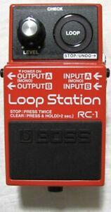 Used Boss RC-1 Loop Station Guitar Pedal