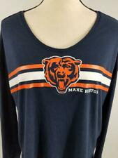 Chicago Bears Womens L Under Armour Heatgear Combine Long Sleeve T Shirt NFL