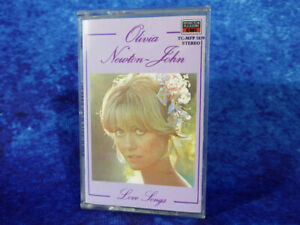 "Olivia Newton-John ""Love Songs"" RARE AUDIO CASSETTE TAPE 1988 EMI *FREE UK P&P!*"