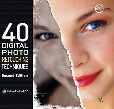 40 Digital Photo Retouching Techniques by Youngjin.com Staff (2005, Paperback, …