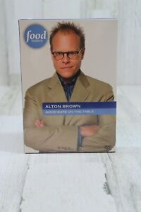 Alton Brown Good Eats on the Table 3 Disc DVD Set Food Network Recipes