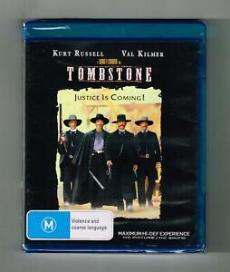 Tombstone Blu-ray Kurt Russell - Brand New & Sealed