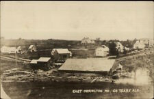 East Orrington ME 50 Years Ago c1910 Real Photo Postcard