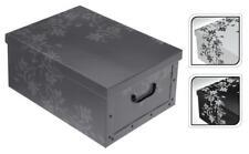 Dkb Boîte de Stockage avec Couvercle Caisse Toutes Utilisations en Carton 51 X