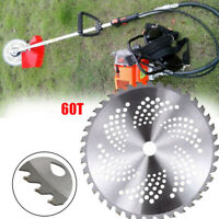 60T Grass Trimmer Brush Cutter Head Steel Garden Strimmer Mower Blade Lawn Tools