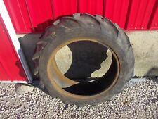 "LTR 9.5 x 24"" rear tractor tire Farmall B BN A IH 4 ply Long bar tread"