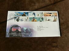 2003 First Day Cover: Extreme Endeavours, Exploration, Mountains, Poles