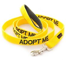ADOPT ME Dog Lead Donate To your local charity Also Yellow Choke Buckle Collar