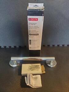"Delta 41812 Contemporary 12"" Polished Chrome Grab Bar"