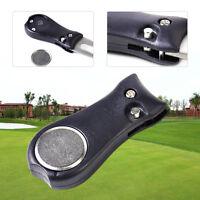 Neu Sport Golf Divot Aufklappbare Tool Pitchgabel Mit Ballmarker Werkzeug Tool