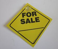 For Sale_____ Car/Truck Window Sign w/ Suction Cup (Made in USA)