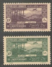Aviation Lebanese Stamps