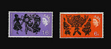 GREAT BRITAIN 1965  FIRST COMMONWEALTH ARTS FESTIVAL  SC#428-429  MLH