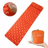 Ultralight Sleeping Pad, Self-Inflatable Camping Mat, Foldable Camping Foam Pad