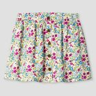 Baby Girls' Almond Cream Floral A Line Skirt Genuine Kids from OshKosh, 12M 18M