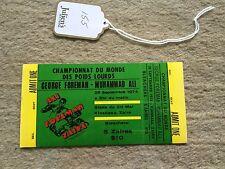 Muhammad Ali - onsite ticket