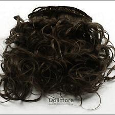 Dollmore Mohair Soft Wave String Hair : D.Brown (Sm4)