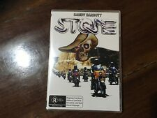 STONE DVD only licensed copy on sale & free wall hanging AUS Biker movie