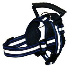 Harnais noirs en maille pour chien