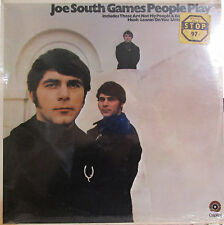 Joe South - Games People Play  (with 4 of his hits by Billy Joe Royal) (sealed)
