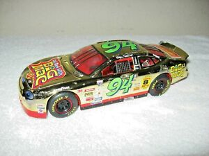 BIG MAC # 94 BILL ELLIOTT 1:24 SCALE NASCAR GOLD PLATE OPENING HOOD