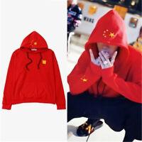 Kpop JACKSON Wang Women/Men Hoodie GOT7 Team Long Sleeve Cotton Red Sweatshirts