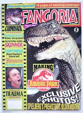 FANGORIA MAGAZINE #124 JURASSIC PARK / CARNOSAUR ROBOCOP 3 / TRAUMA 1992