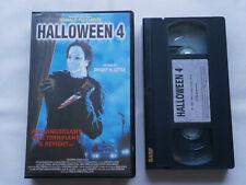 HALLOWEEN 4 / film horreur / cassette video vhs