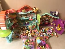 Littlest Pet Shop Biggest, Littlest Play House, 125 Pets Short Hair Cats Dogs Mo